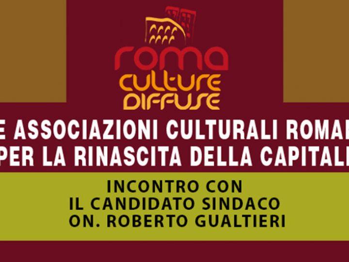 """Manifesto """"Roma, città delle Culture Diffuse"""""""